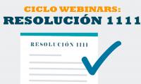 Webinar Gratuito: Implementando la resolución 1111 en la empresa