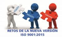 Primer Webinar Gratuito 2016: Retos de la nueva versión ISO 9001:2015