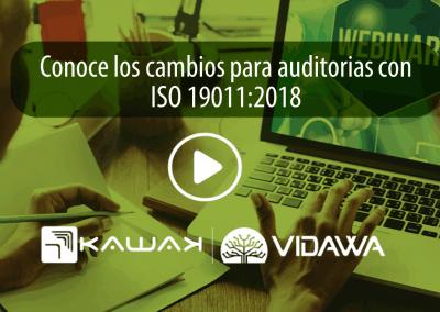Conoce los cambios para auditorías con ISO 19011:2018