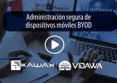 Administración segura de dispositivos móviles BYOD